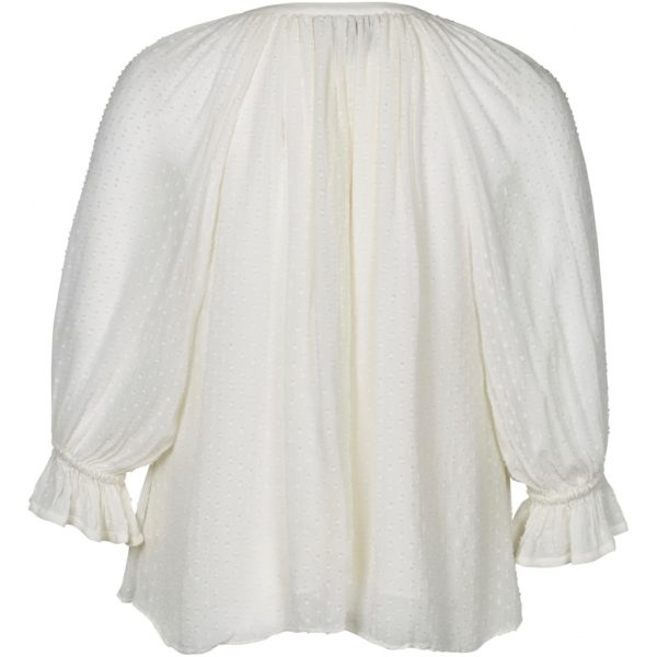 194-0347 - 105 Off white - Extra 4 Parker blouse Zoey