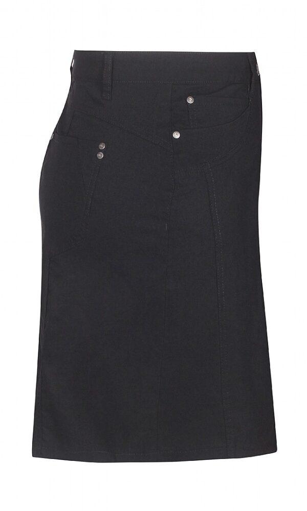 2703297 Zhenzi nederdel m lårskåner S sort