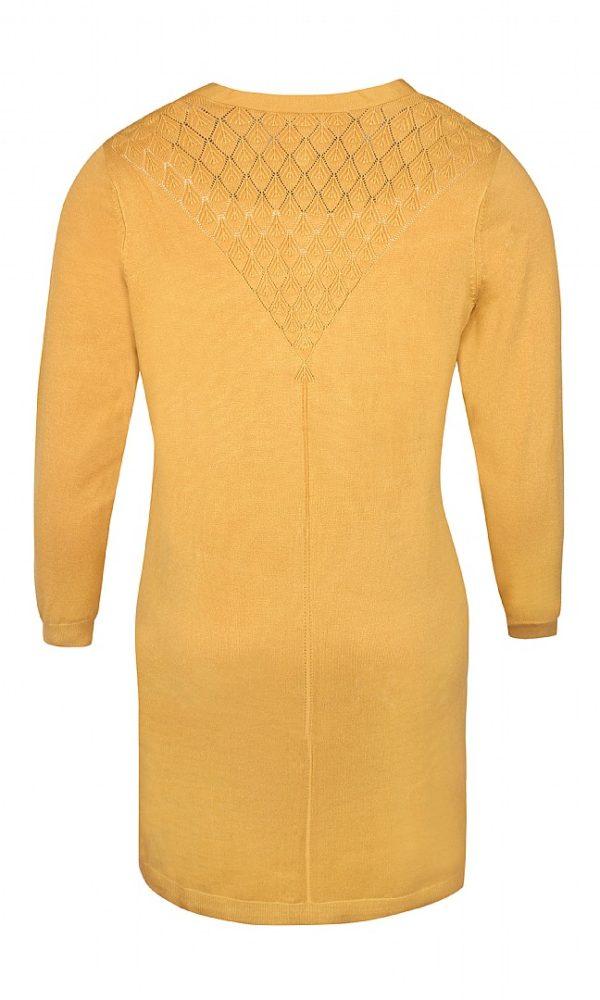 2807509 B Zhenzi lang cardigan mustard