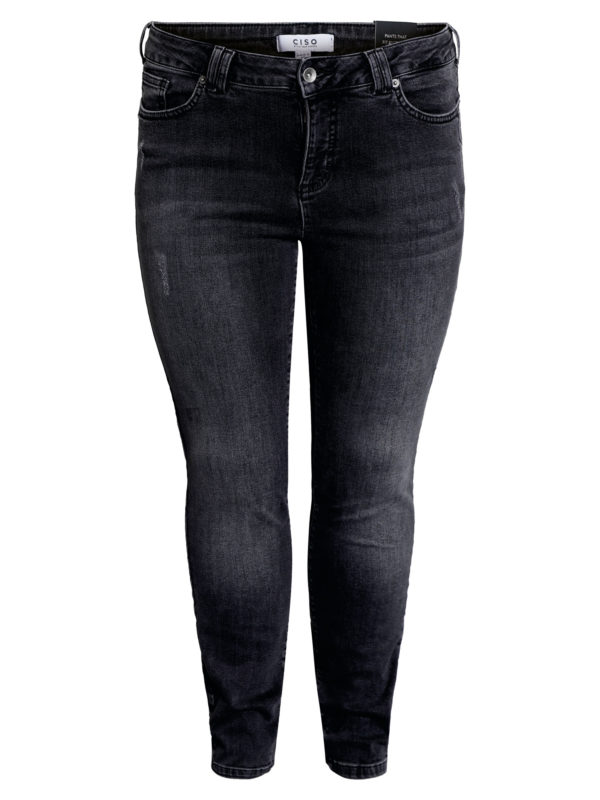Ciso jeans slim fit grå 207614
