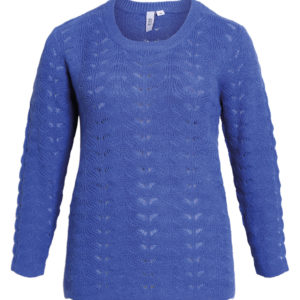 Ciso strik sweater blå 207590 1