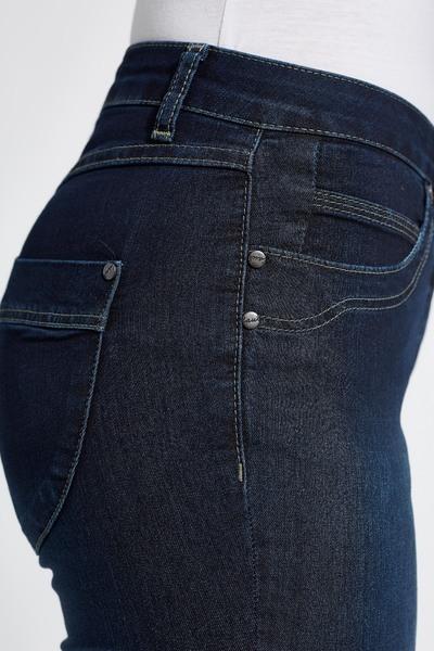 LauRie Dark blue denim cowboybukser 23310 S