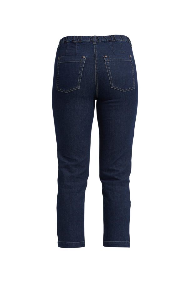 LauRie Dark denim regular bukser 23369 B