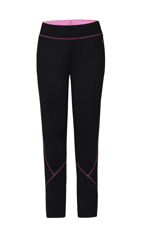 Zhenzi fitness leggins sort 2412470