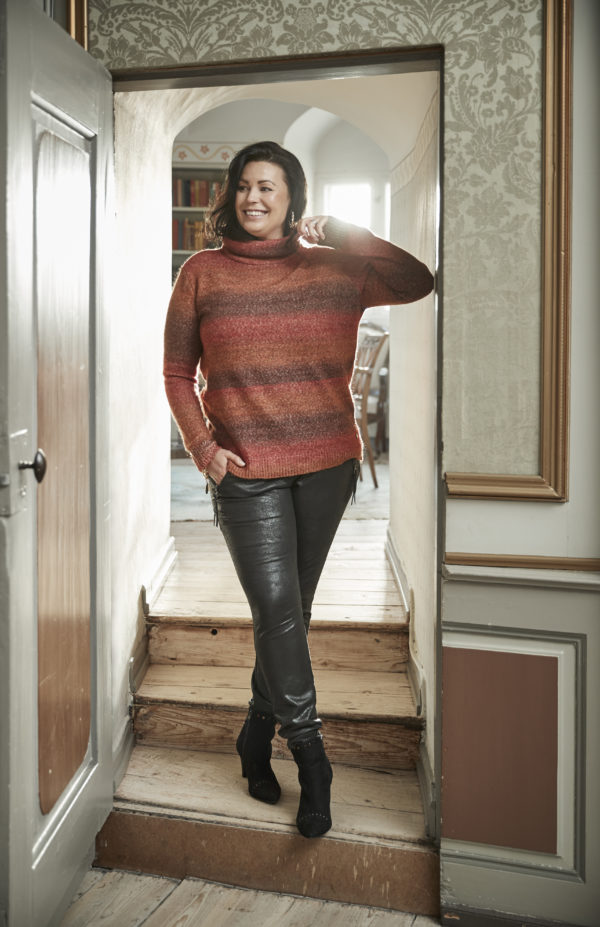 Zoey sweater 201-1861 - 212 Bombay brown mix - Extra 1