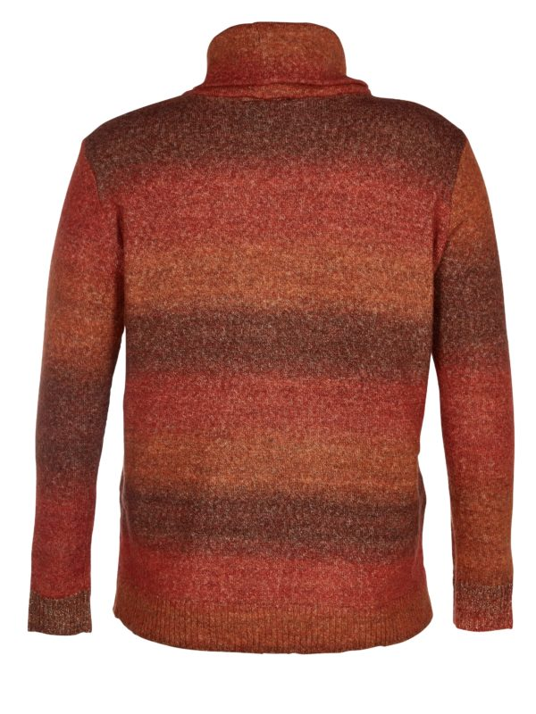 Zoey sweater 201-1861 - 212 Bombay brown mix - Extra 3