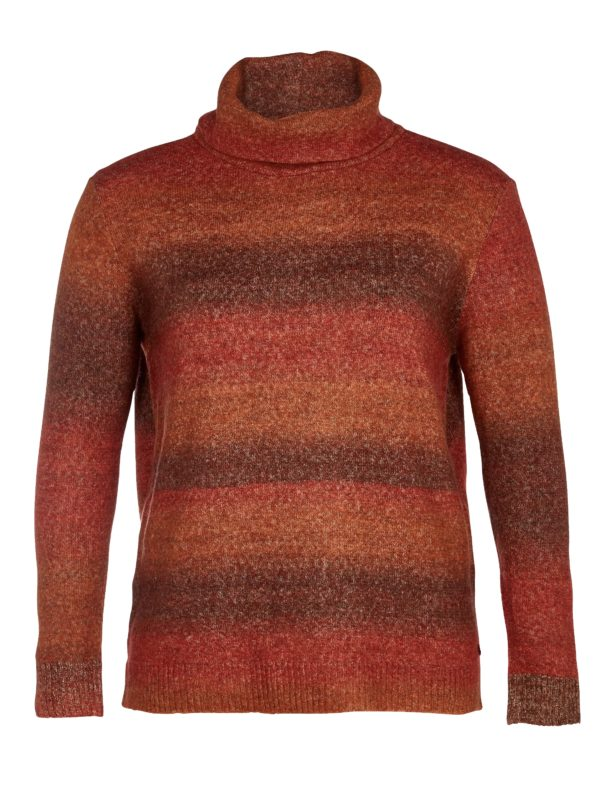 Zoey sweater201-1861 - 212 Bombay brown mix - Main