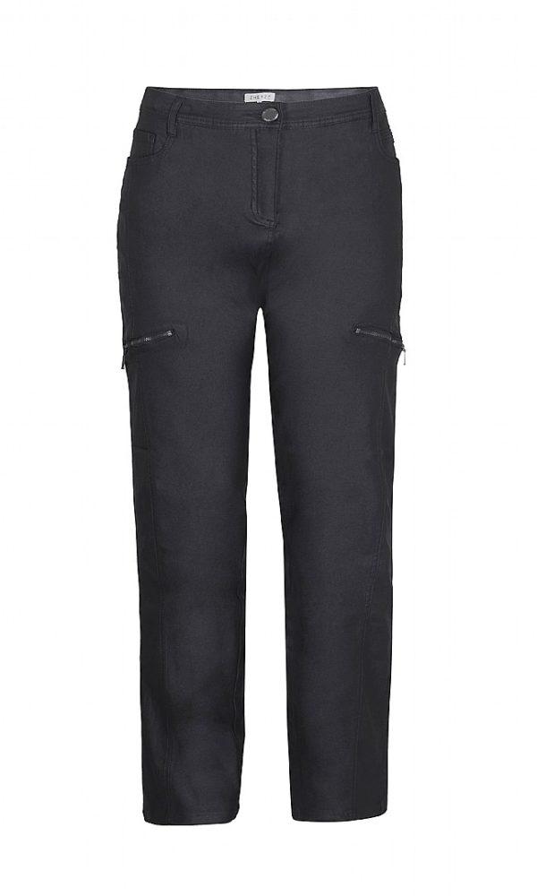2211364 F Zhenzi coatede twill bukser