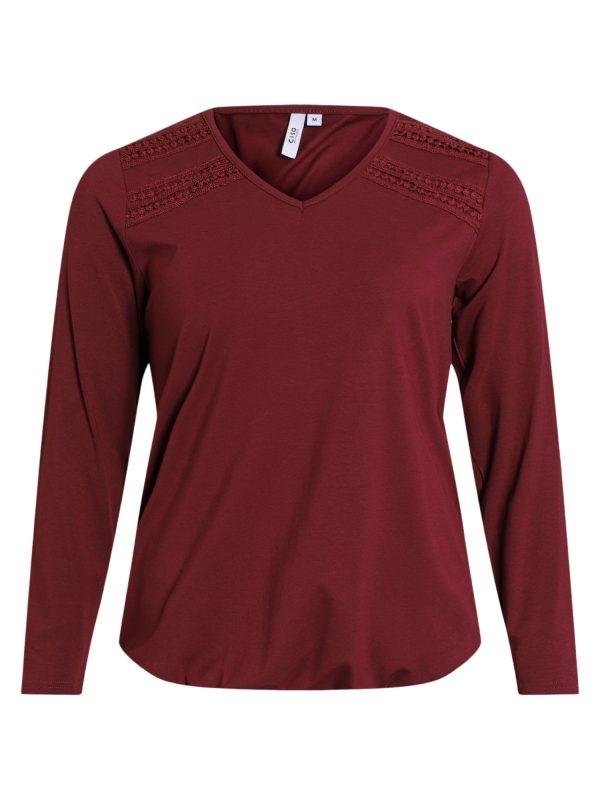 210505 Ciso T-shirt bordeaux