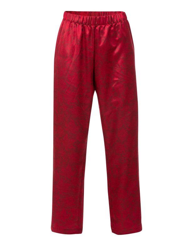 60236 B Trofe pyjamas rød satin