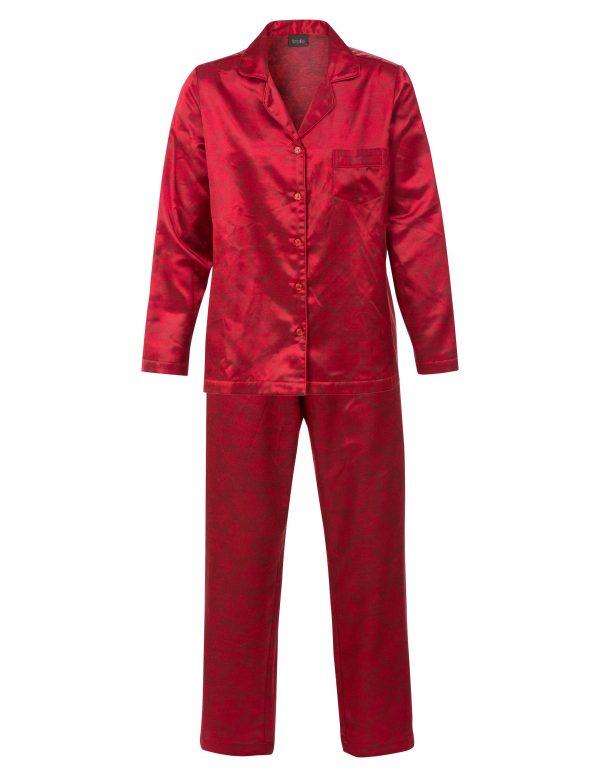 60236 H Trofe pyjamas rød satin
