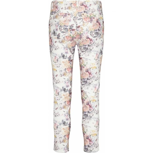 Laurie Madison Slim Cropped Pink B 21564