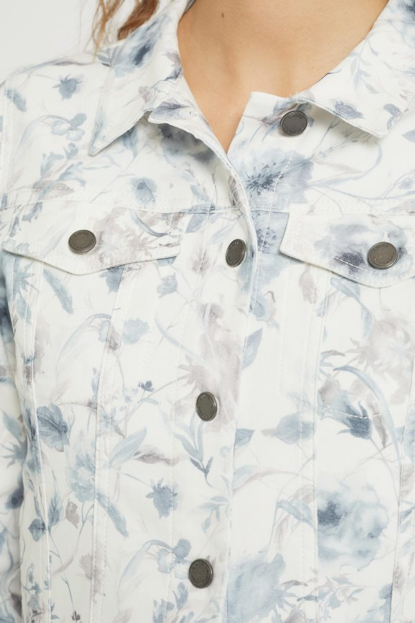 100389 - 43416 Faded Blue Flower - Extra 4