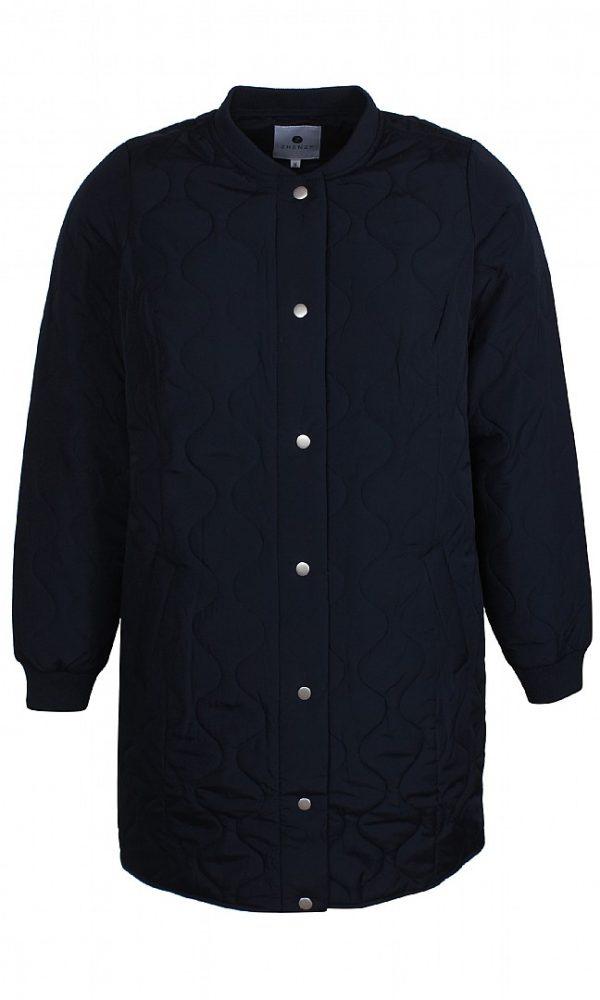 2101601 Zhenzi vatteret jakke blå