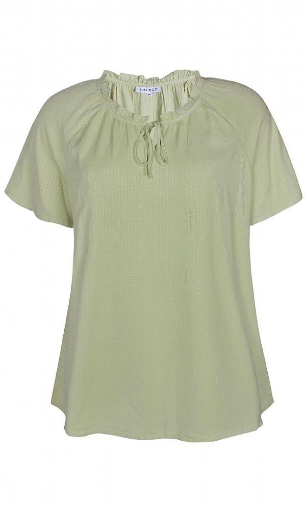 2102240 F Zhenzi bluse grøn