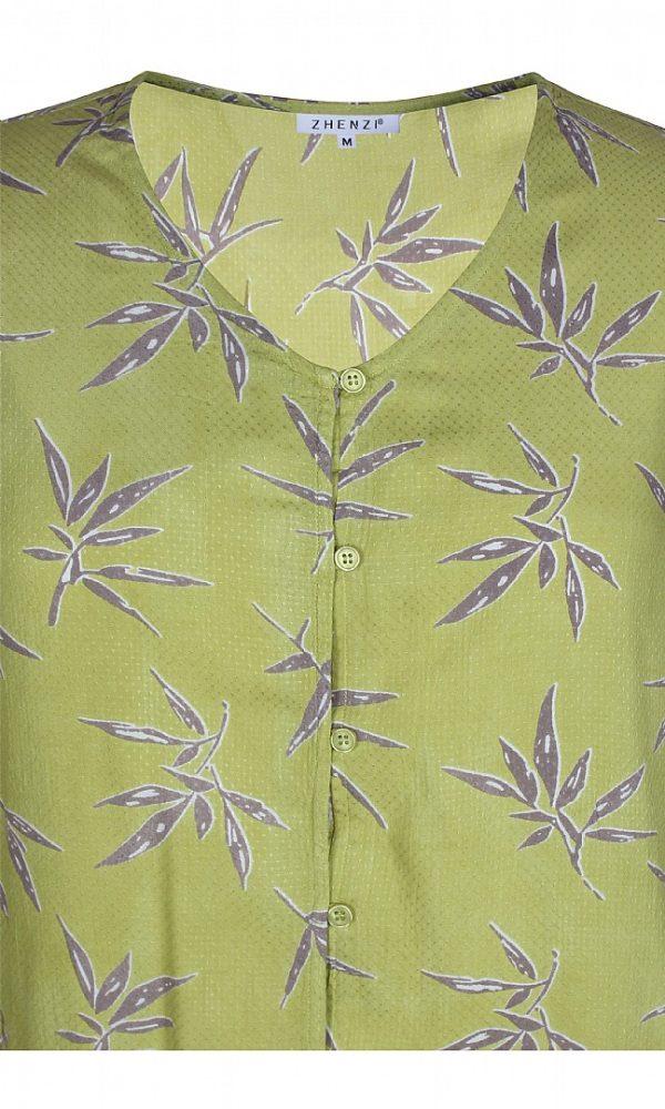 2102263 N Zhenzi limegrøn skjorte