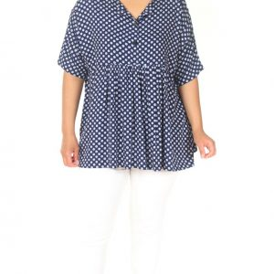 AA1826S angel circle bluse