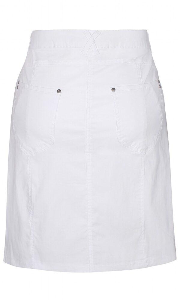 2703297 Zhenzi nederdel m lårskåner B hvid