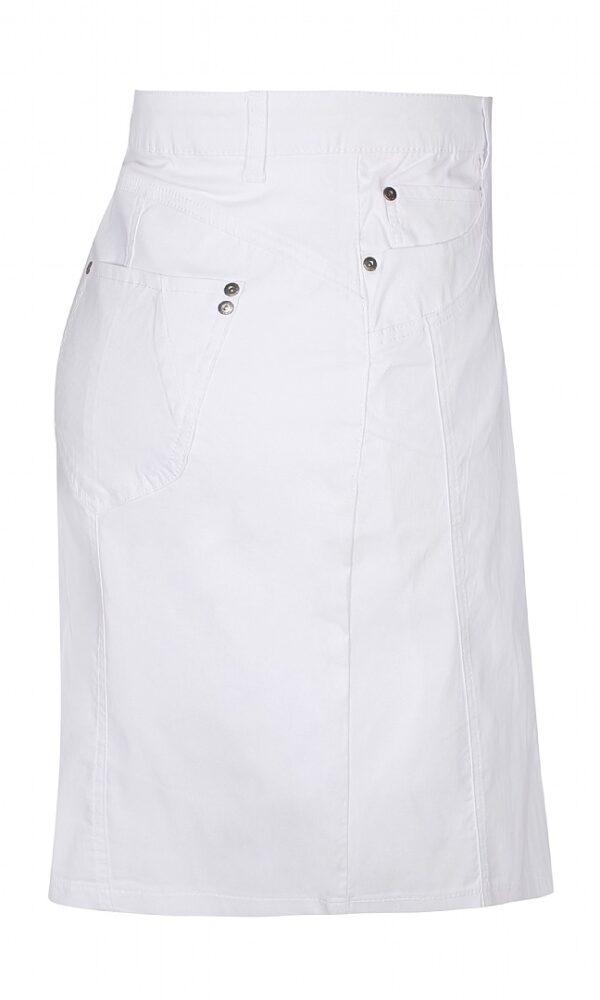 2703297 Zhenzi nederdel m lårskåner S hvid