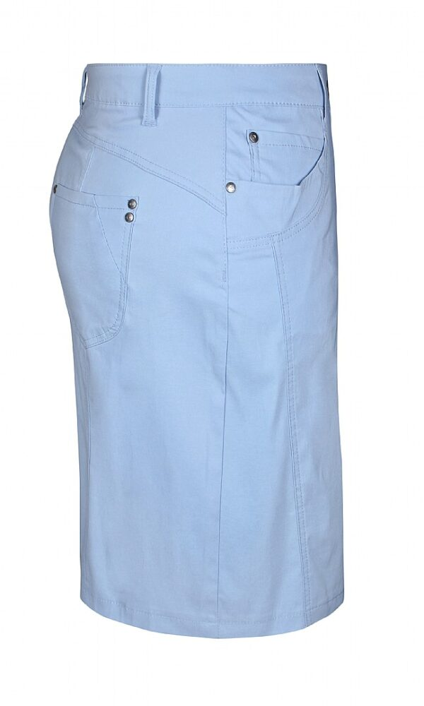 2703297 Zhenzi nederdel m lårskåner S lyseblå