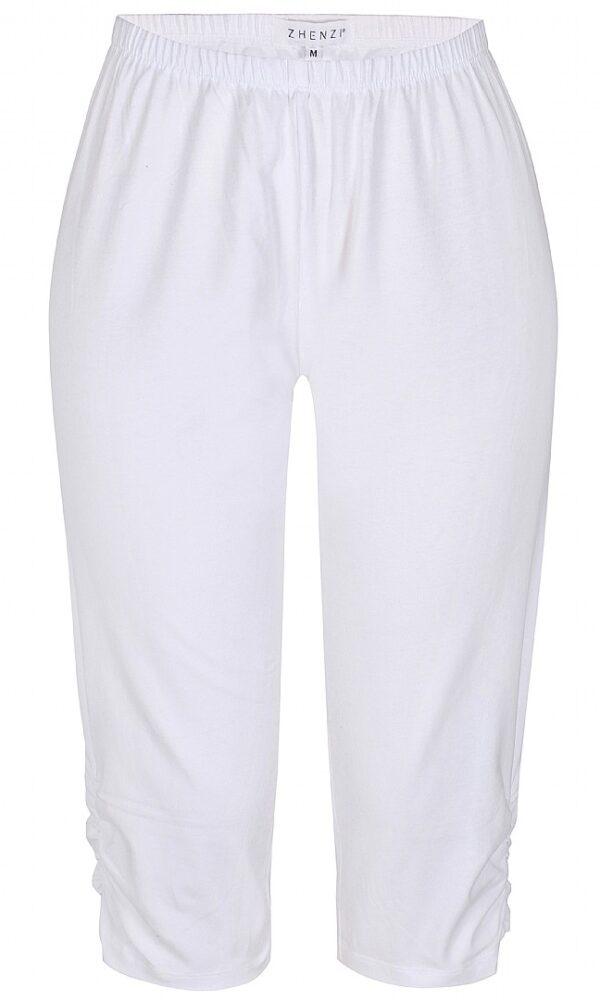 2704120 Zhenzi leggins hvid