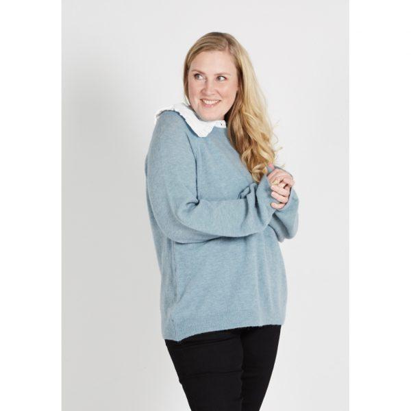 Zoey Heidi Collar skjortekrave hvid P 203-1683