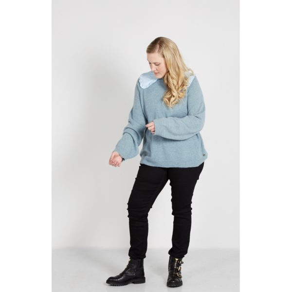 Zoey Heidi Collar skjortekrave lysblå P 203-1683