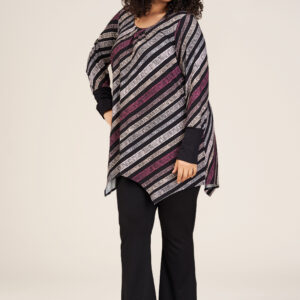 S215839 - Black with purple stripes - Extra 1