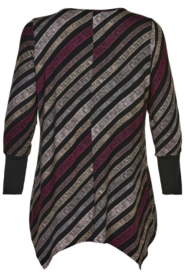 S215839 - Black with purple stripes - Extra 2