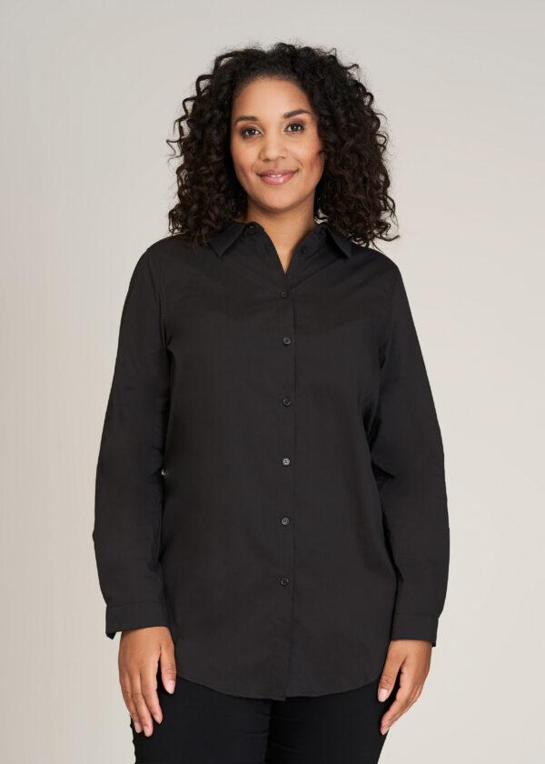 SG113 - Black - Extra 1 Sandgaard skjorte