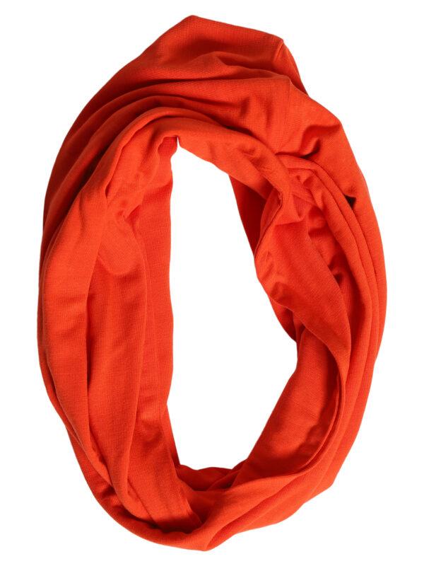 205701 7312 orange Signatur tubetørklæde